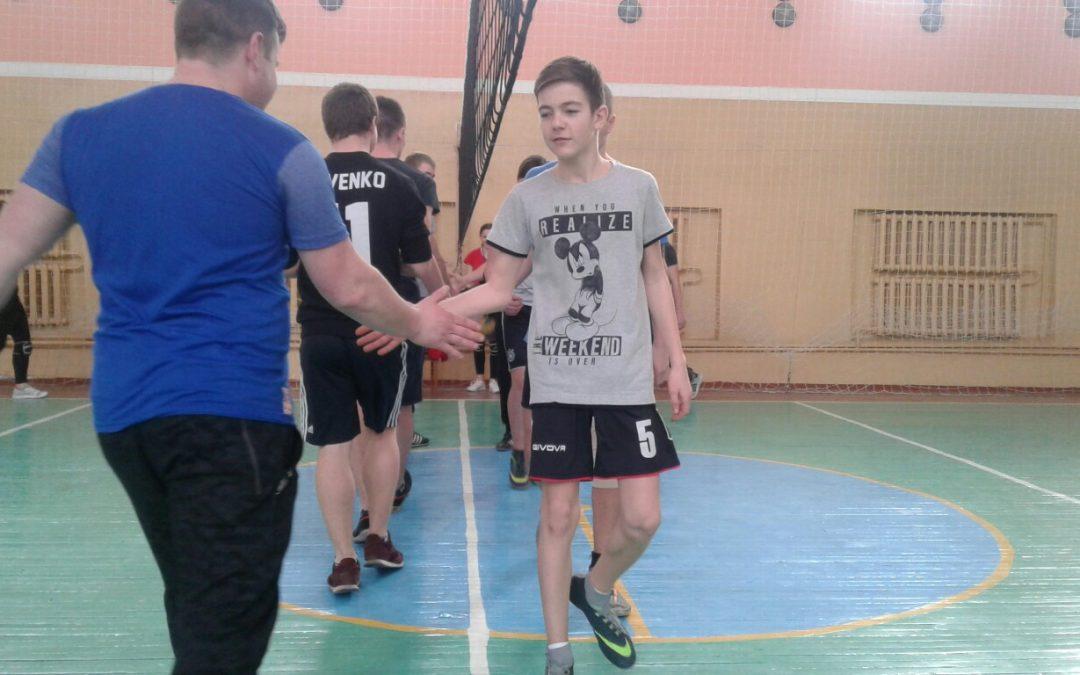 Товариська зустріч з волейболу