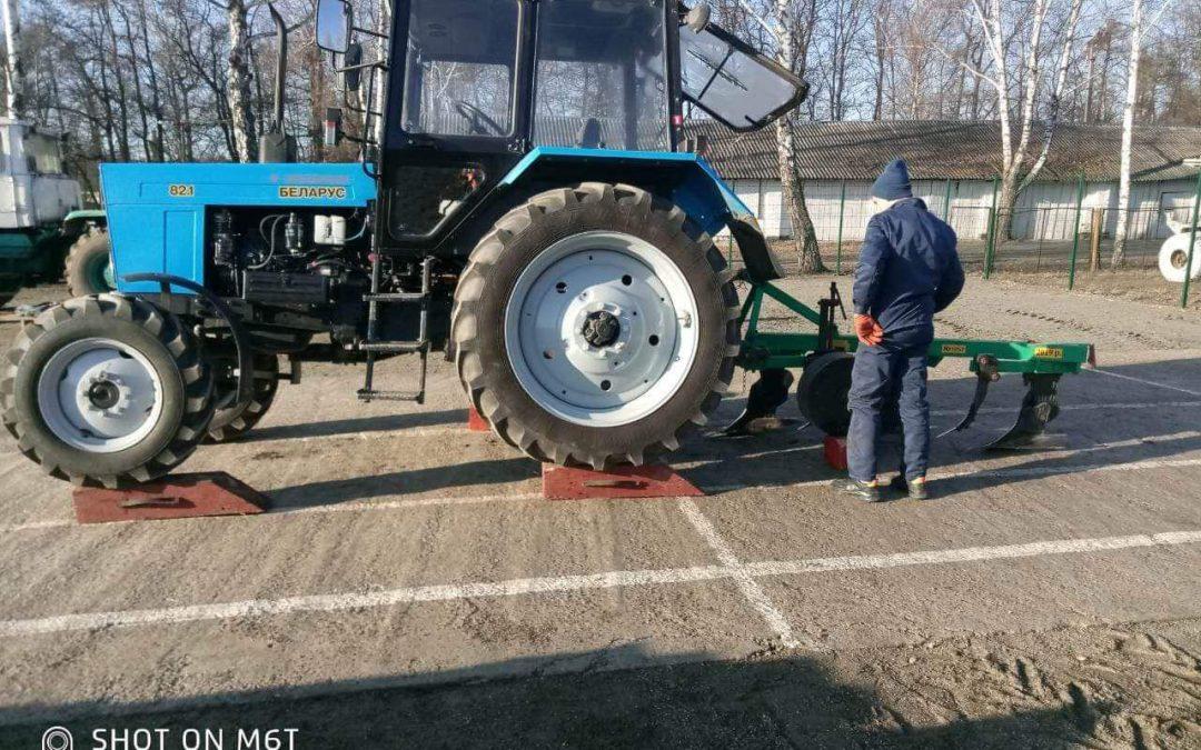 Зріз знань у трактористів