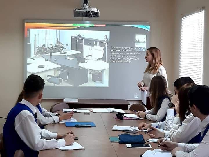 Відкритий урок виробничого навчання в групі адміністраторів